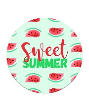 Sweet Summer Circle Coaster tile