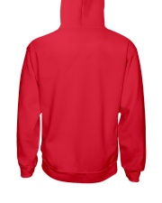 Quarantine and Chill - Red Version Hooded Sweatshirt back