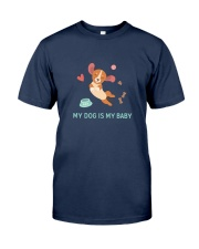 My Dog Is My Baby Classic T-Shirt thumbnail