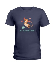 My Dog Is My Baby Ladies T-Shirt thumbnail