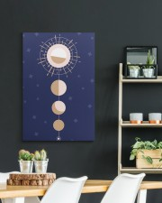 Moon and sun 20x30 Gallery Wrapped Canvas Prints aos-canvas-pgw-20x30-lifestyle-front-04