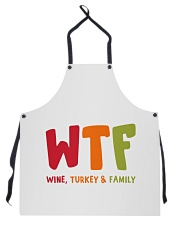 Wine Turkey and Family Apron thumbnail