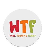 Wine Turkey and Family Circle Coaster thumbnail