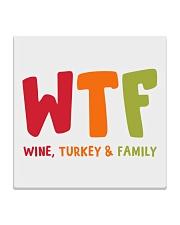 Wine Turkey and Family Square Coaster thumbnail