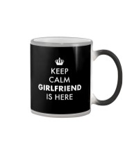 Keep Calm Girfriend is Here Color Changing Mug thumbnail
