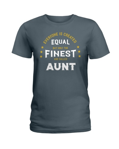 The Finest are Called Aunt