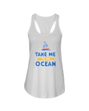 Take me to the Ocean Ladies Flowy Tank front