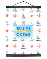 Take me to the Ocean 12x16 Black Hanging Canvas thumbnail