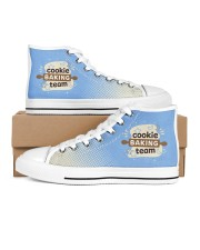 Cookie Baking Team Women's High Top White Shoes thumbnail