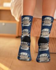 Cookie Baking Team Crew Length Socks aos-accessory-crew-length-socks-lifestyle-back-01