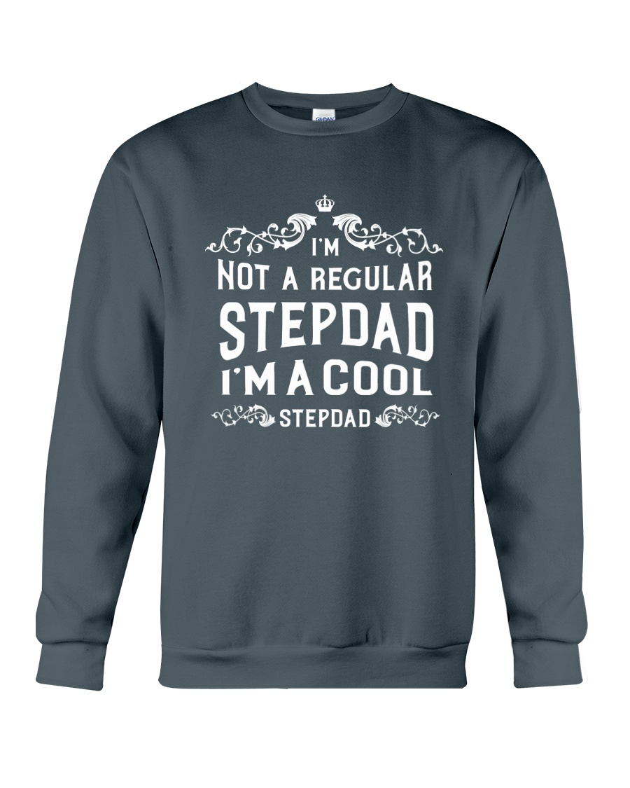 I'm a Cool Stepdad Crewneck Sweatshirt