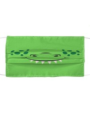 Crocodile Mouth Cloth face mask front