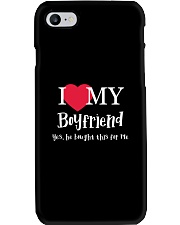 I Love My Boyfriend - Yes He Bought This For Me Phone Case thumbnail