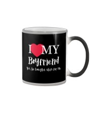 I Love My Boyfriend - Yes He Bought This For Me Color Changing Mug thumbnail