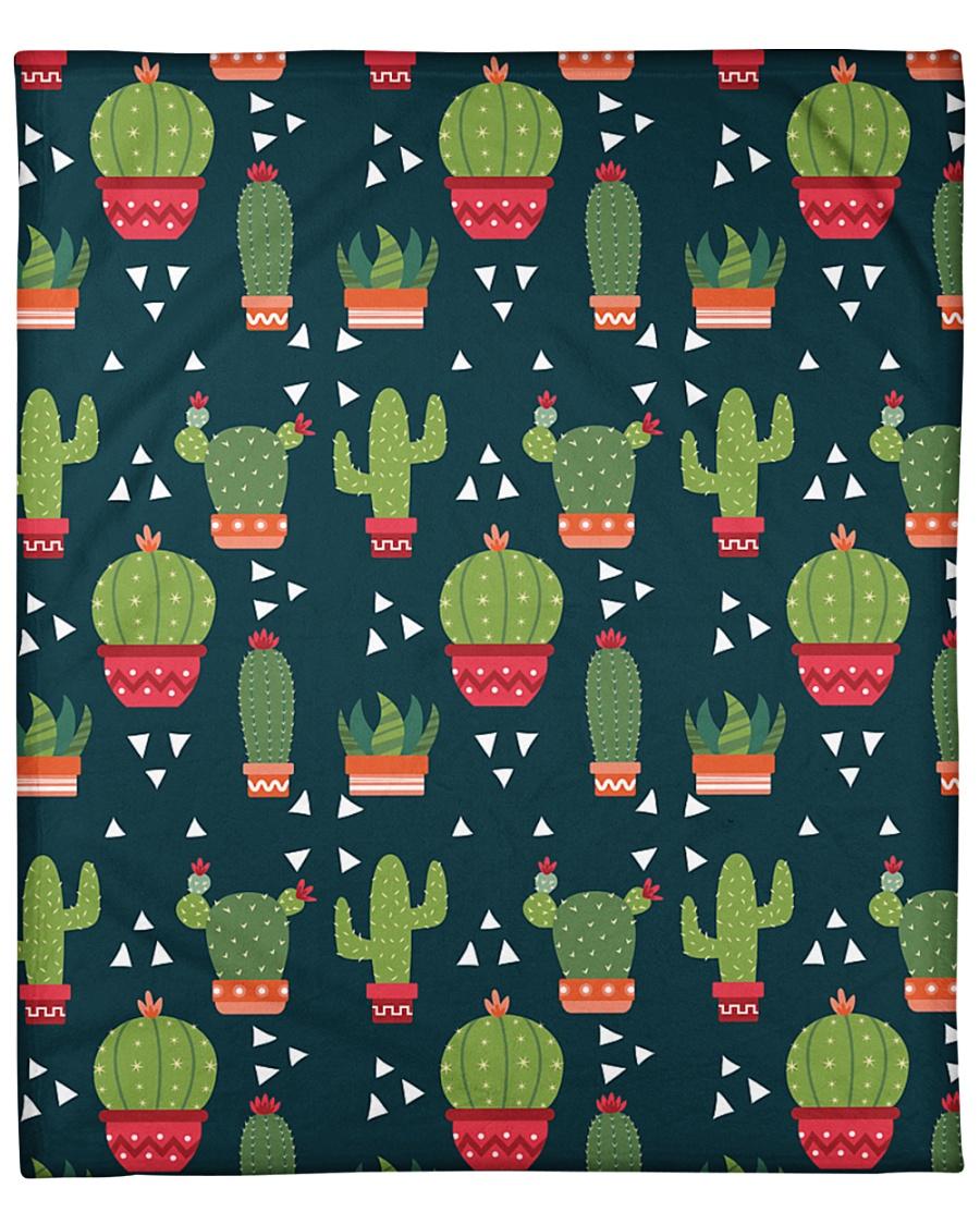 """Cactus Pattern Fleece Blanket - 50"""" x 60"""""""