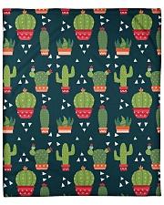 """Cactus Pattern Fleece Blanket - 50"""" x 60"""" front"""