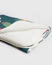 "Cactus Pattern Sherpa Fleece Blanket - 50"" x 60"" aos-sherpa-fleece-blanket-50x60-lifestyle-front-12A"
