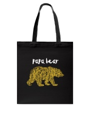 Papa Bear Tote Bag tile