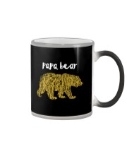 Papa Bear Color Changing Mug tile