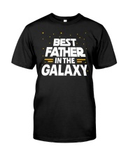 Best Father in the Galaxy Classic T-Shirt thumbnail