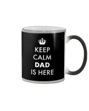 Keep Calm Dad is Here Color Changing Mug thumbnail