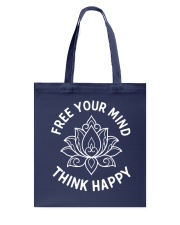 Think happy Tote Bag tile