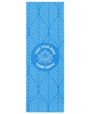 Think happy Yoga Mat 24x70 (vertical) front