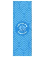 Think happy Yoga Mat 24x70 (vertical) thumbnail