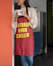Natural Born Chiller Apron aos-apron-27x30-lifestyle-front-05