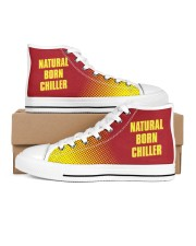 Natural Born Chiller Men's High Top White Shoes inside-left-outside-left
