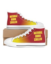 Natural Born Chiller Men's High Top White Shoes inside-right-outside-right