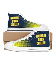 Natural Born Chiller Women's High Top White Shoes thumbnail