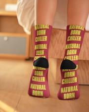 Natural Born Chiller Crew Length Socks aos-accessory-crew-length-socks-lifestyle-back-01