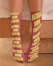 Natural Born Chiller Crew Length Socks aos-accessory-crew-length-socks-lifestyle-front-02