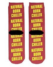 Natural Born Chiller Crew Length Socks back