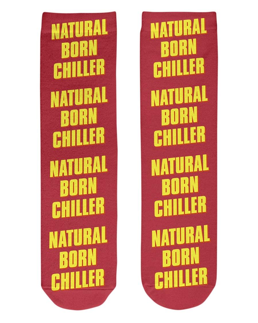 Natural Born Chiller Crew Length Socks