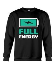 Full of energy  Crewneck Sweatshirt thumbnail