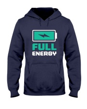 Full of energy  Hooded Sweatshirt front