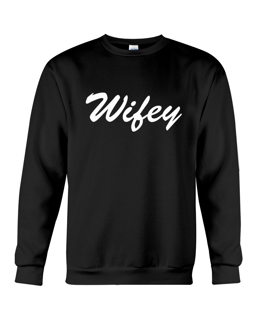 Wifey - Couple's Design Crewneck Sweatshirt