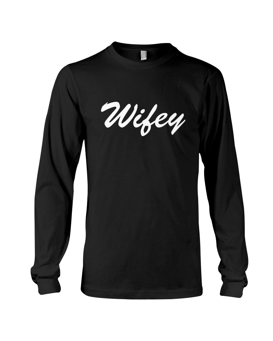 Wifey - Couple's Design Long Sleeve Tee