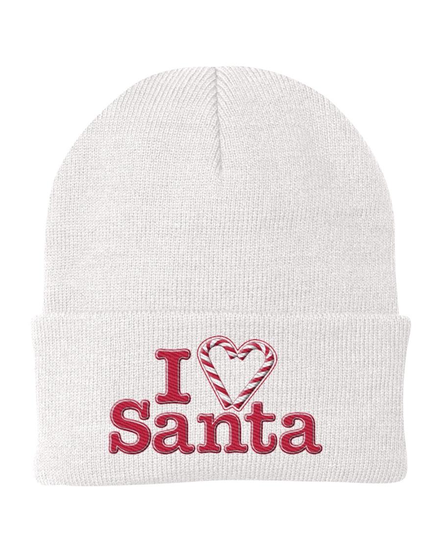 I Love Santa Knit Beanie