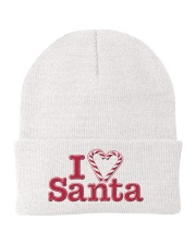 I Love Santa Knit Beanie front
