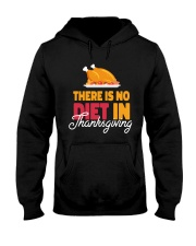 There is no Diet in Thanksgiving Hooded Sweatshirt thumbnail