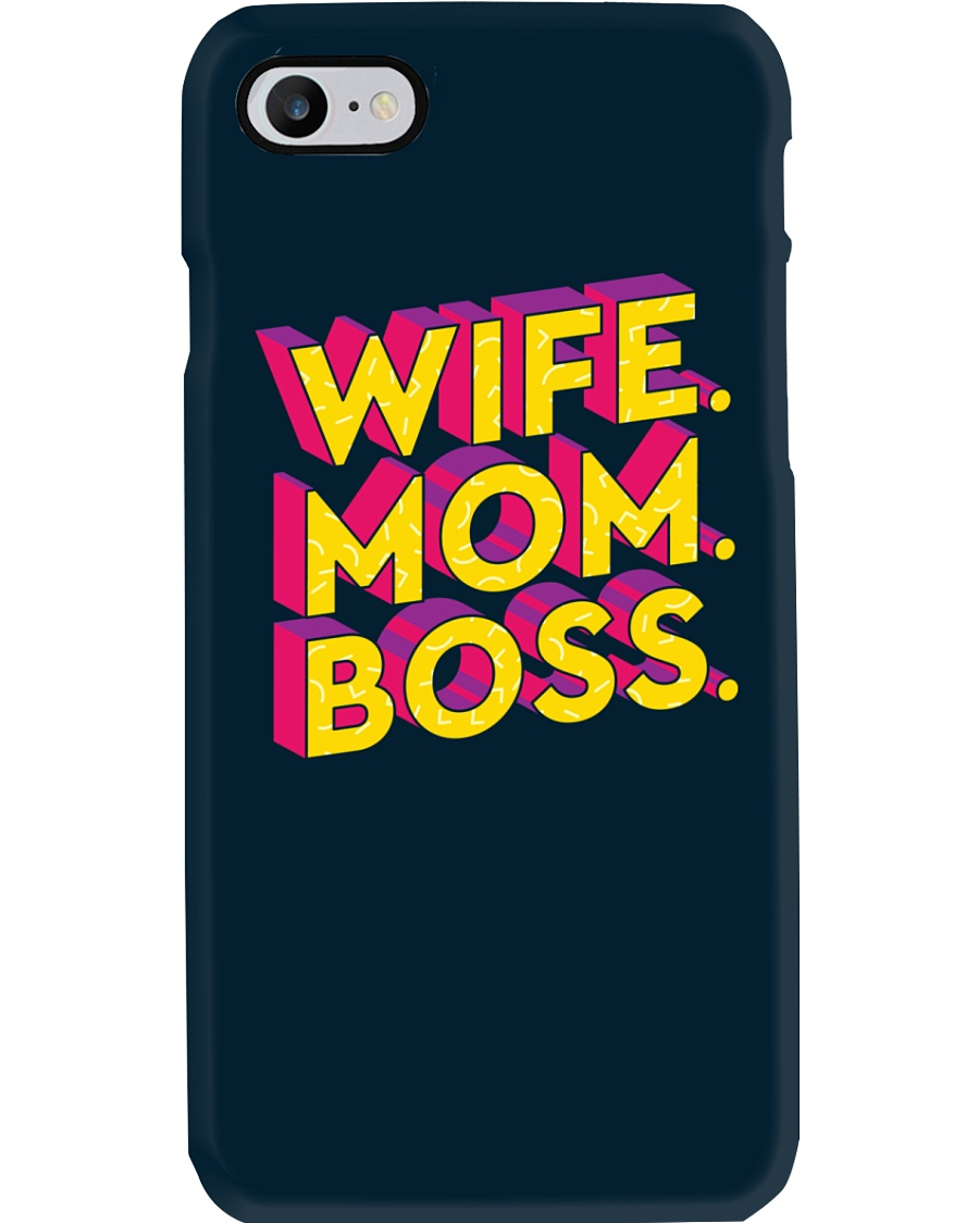 Wife Mom Boss Phone Case