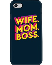 Wife Mom Boss Phone Case i-phone-7-case