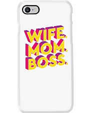 Wife Mom Boss Phone Case thumbnail