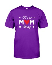 It's a Mom Thing Classic T-Shirt front