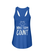 Make Today Count Ladies Flowy Tank thumbnail