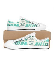 Make Today Count Women's Low Top White Shoes thumbnail