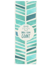 Make Today Count Yoga Mat 24x70 (vertical) thumbnail